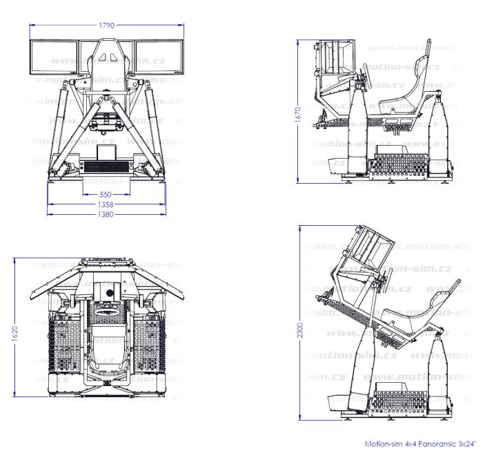 motion-sim cz > 4DOF motion simulators